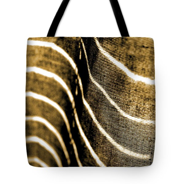 Tote Bag featuring the photograph Curves And Folds by Todd Blanchard