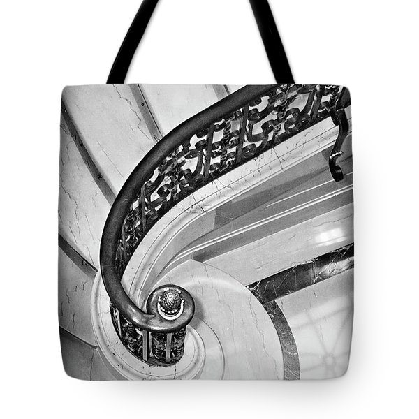 Curves And Light Tote Bag