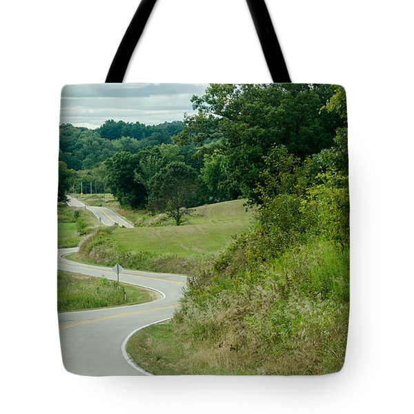 Tote Bag featuring the photograph Curves by Dan Traun