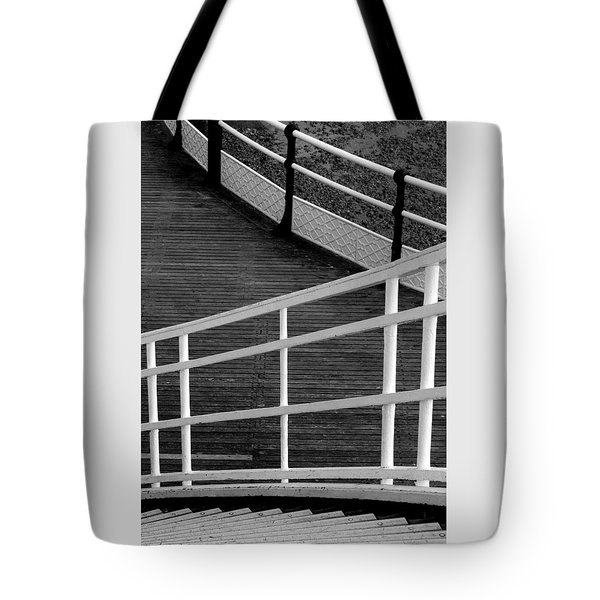 Curves Tote Bag by Hazy Apple