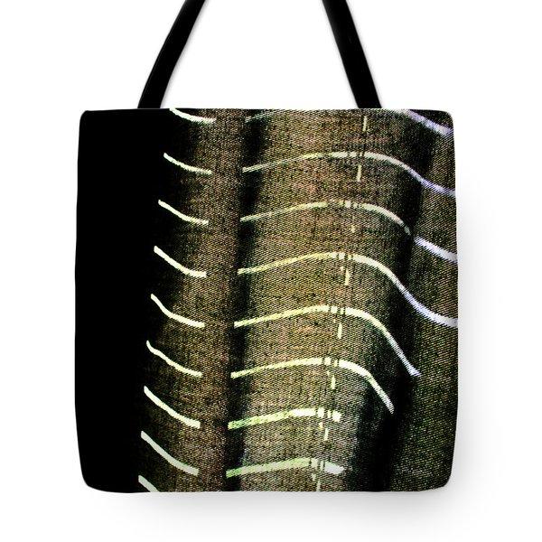 Curvilinear Tote Bag