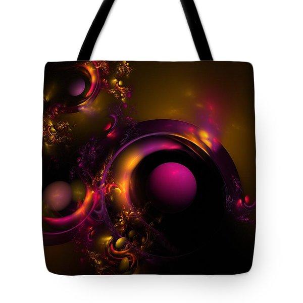 Curvy Baby Tote Bag