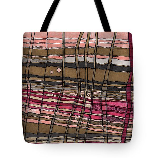 Stalks At Sunset Tote Bag by Sandra Church