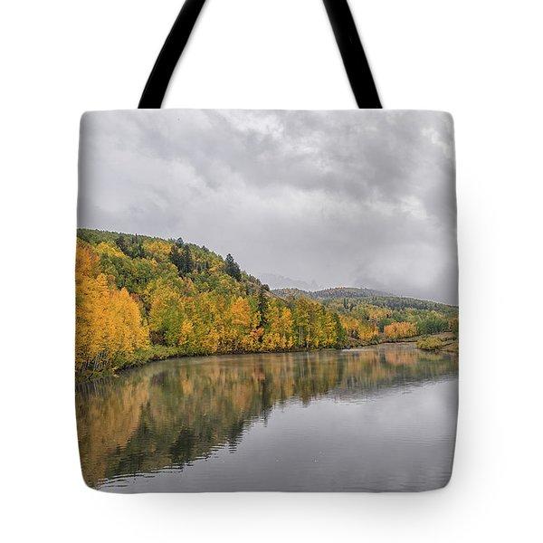 Cushman Lake  Tote Bag
