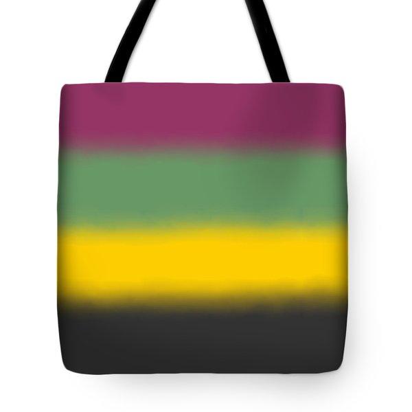 Flower Tones - Sq Block Tote Bag