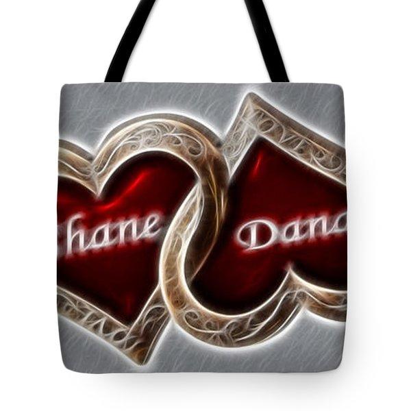 Custom Hearts Tote Bag