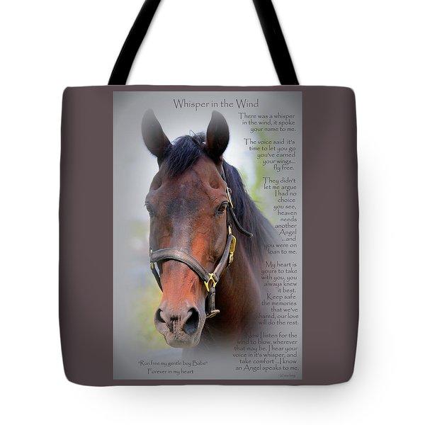 Custom Hoofprint Babe Tote Bag