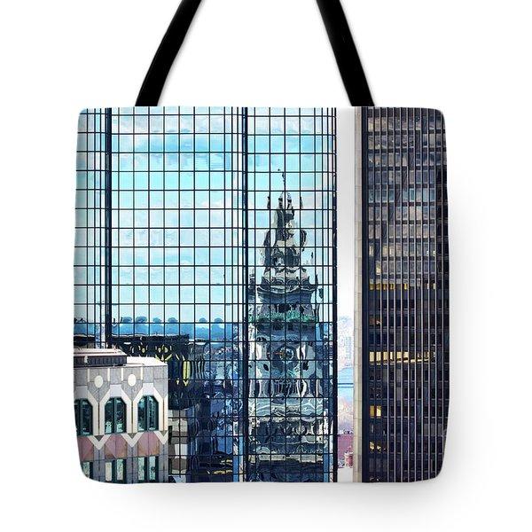 Custom House Reflection Tote Bag