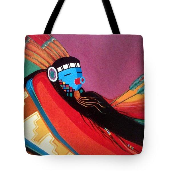 Custom Kachina Tote Bag