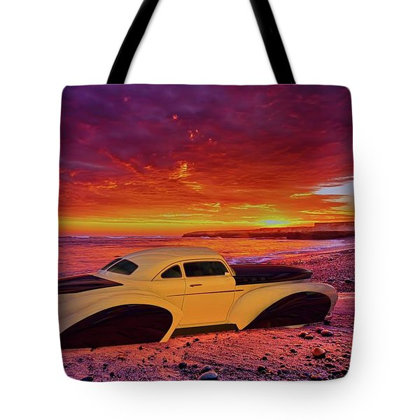 Custom Lead Sled Tote Bag