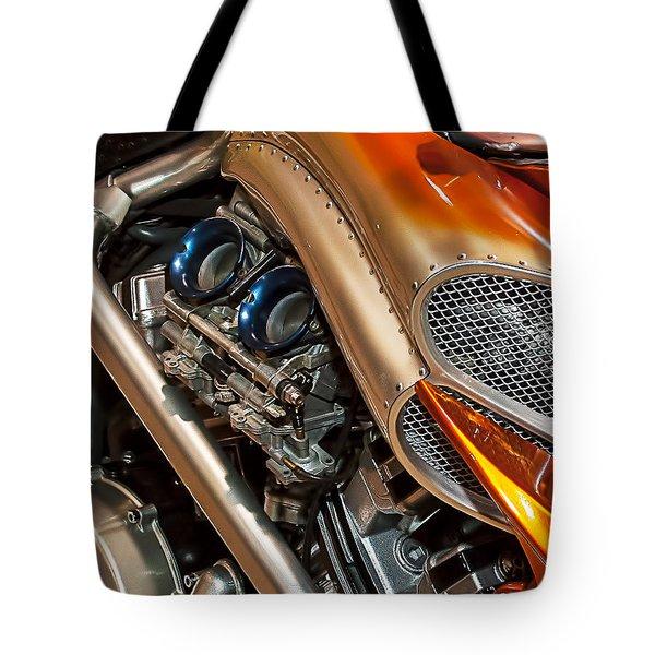 Custom Motorcycle Tote Bag