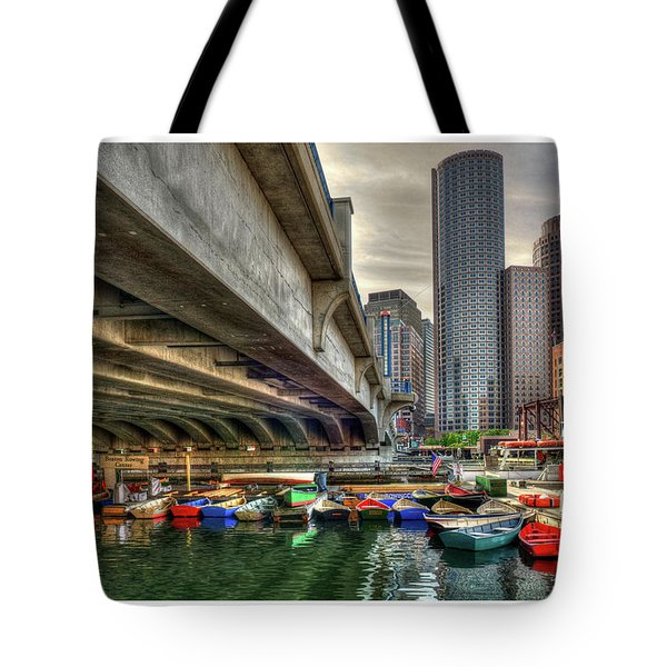 Tote Bag featuring the photograph Custom Order - Boston Rowing Center by Joann Vitali
