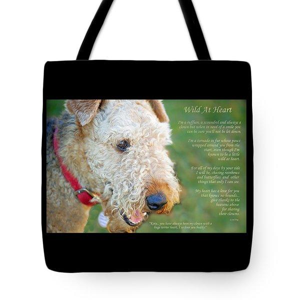 Custom Paw Print Dakota Tote Bag