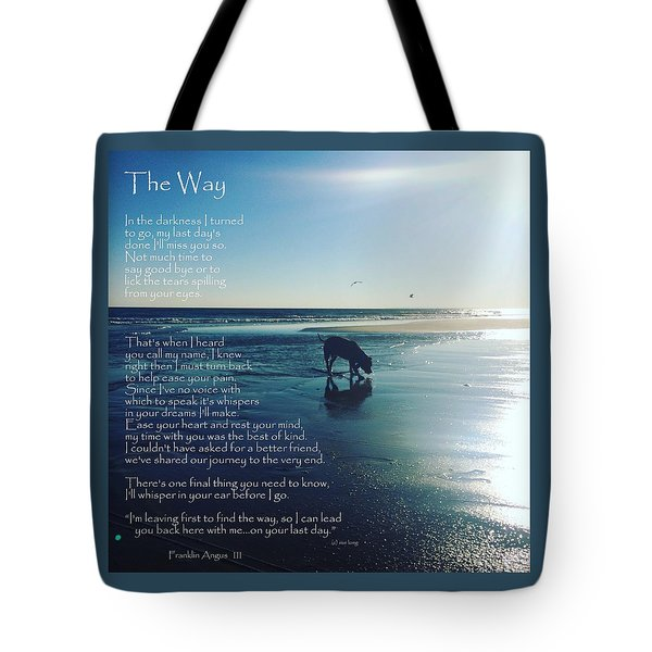 Custom Paw Print Franklin Angus Tote Bag