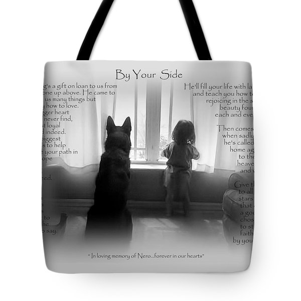 Custom Paw Print   Nero Tote Bag