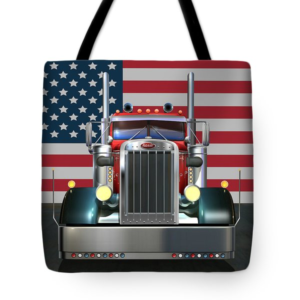 Custom Peterbilt 2 Tote Bag