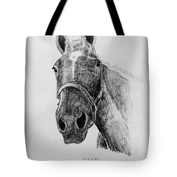 Cut The Horse Tote Bag