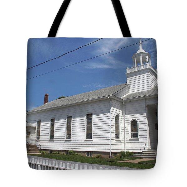 Cutchogue United Methodist Church Tote Bag
