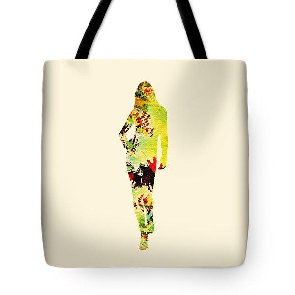 Cute Tote Bag by Anastasiya Malakhova
