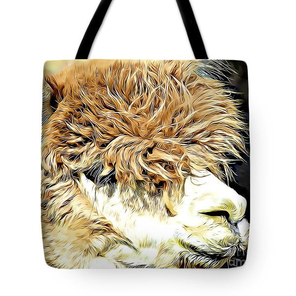 Soft And Shaggy Tote Bag by Kathy M Krause