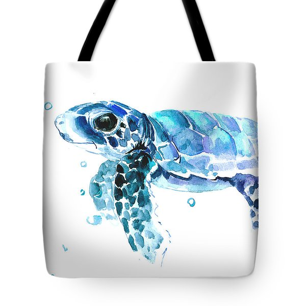 Cute Baby Turtle Tote Bag