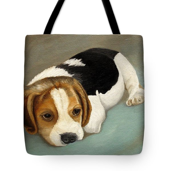 Cute Beagle Tote Bag