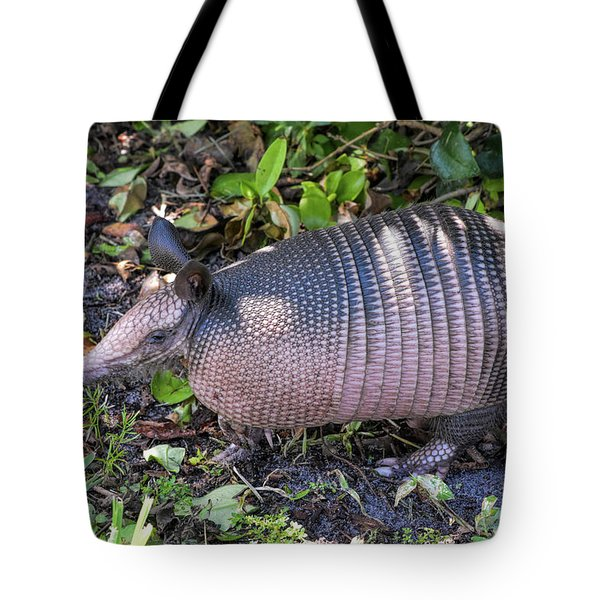 Cute Coat Of Armor Tote Bag