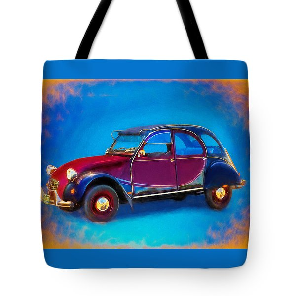 Cute Little Car Tote Bag