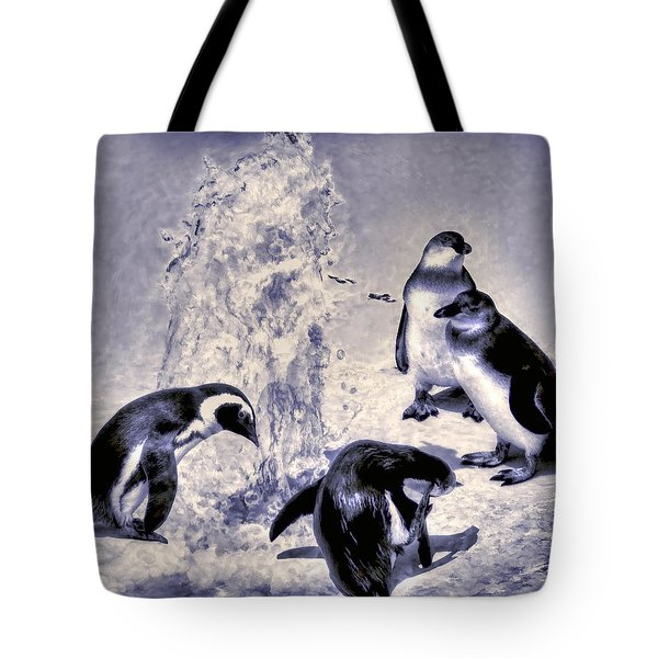 Cute Penguins Tote Bag
