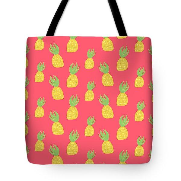 Cute Pineapples Tote Bag