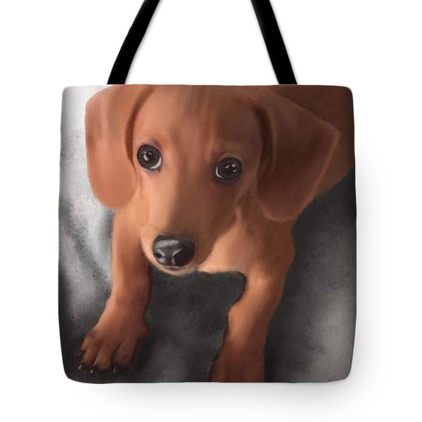 Cutest Pup Ever Tote Bag
