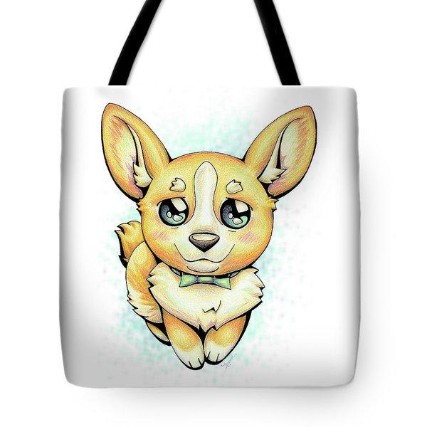 Cutie Corgi Tote Bag