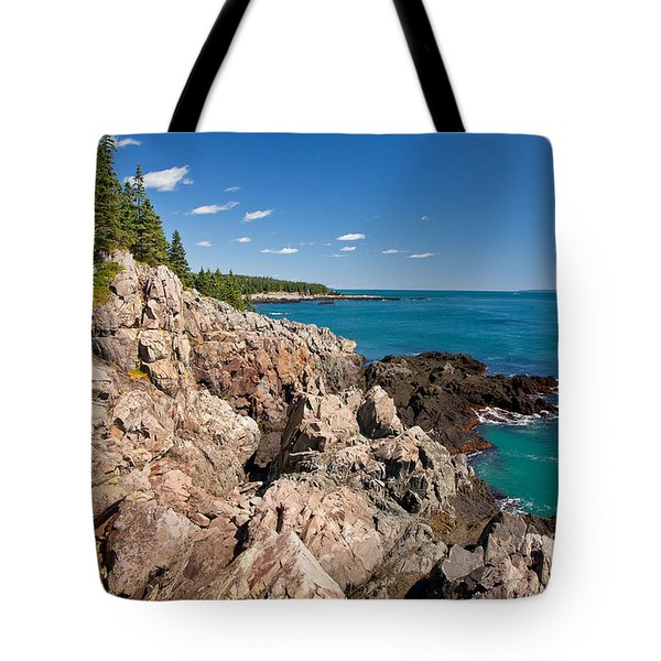 Cutler Cliffs 1 Tote Bag