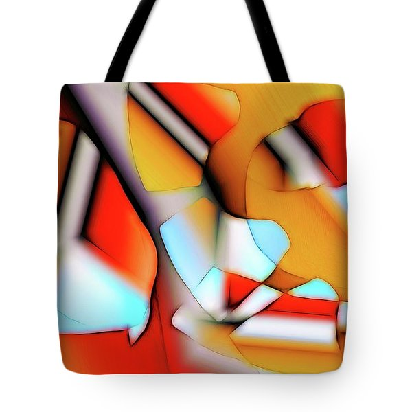 Cutouts Tote Bag by Ron Bissett