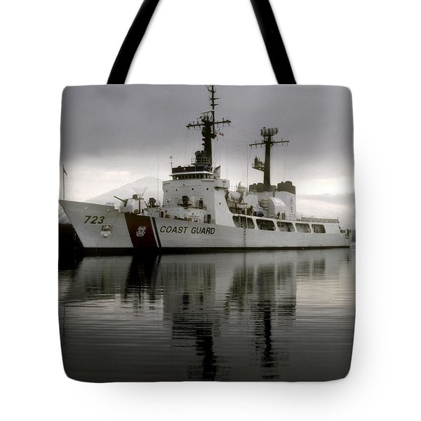Cutter In Alaska Tote Bag