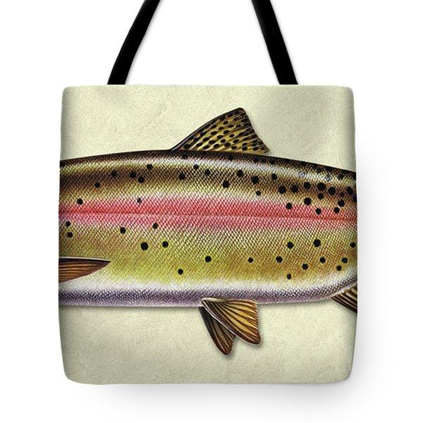 Cutthroat Trout Id Tote Bag