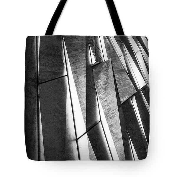 Cutting Design At Titanic Belfast Tote Bag
