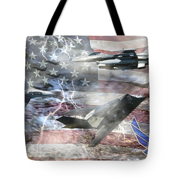 Cutting Edge Tote Bag
