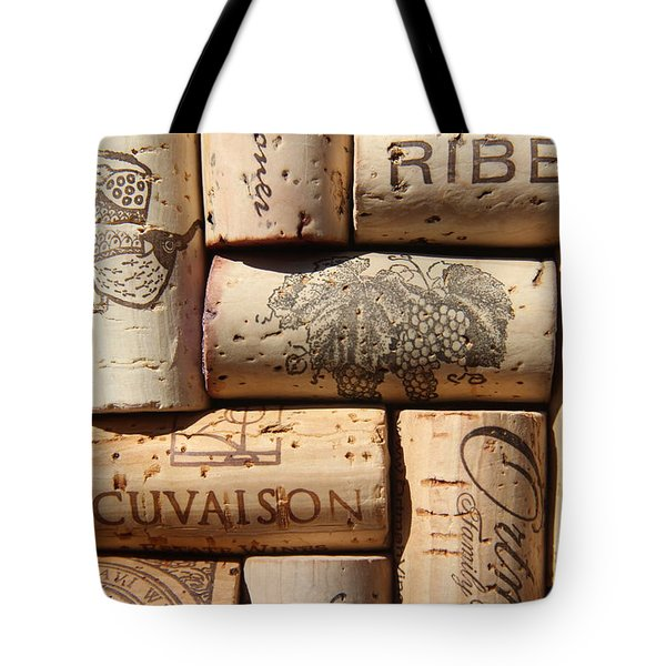 Cuvaison Tote Bag by Anthony Jones