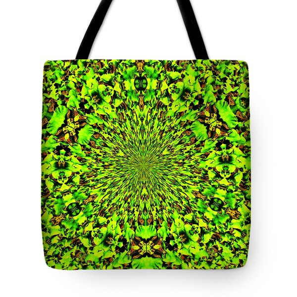 Cuz I Eats Me Spinach Tote Bag by Bob Wall