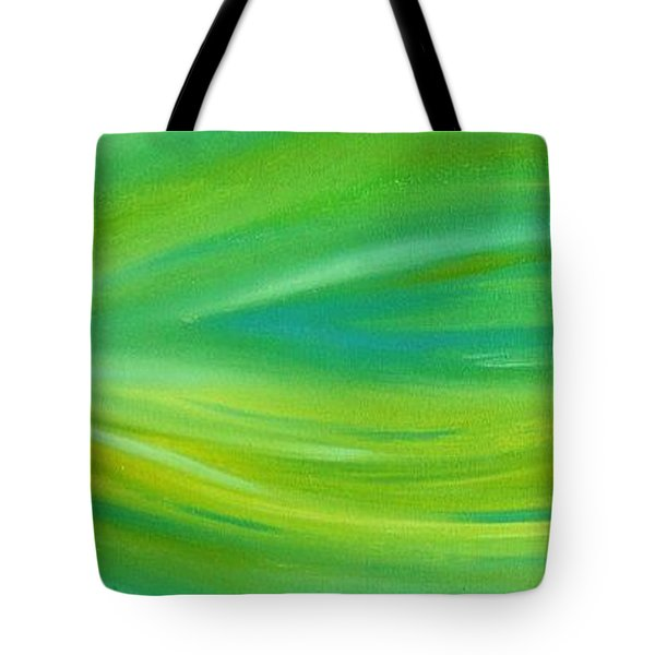 Tote Bag featuring the painting Cy Lantyca 16 by Cyryn Fyrcyd