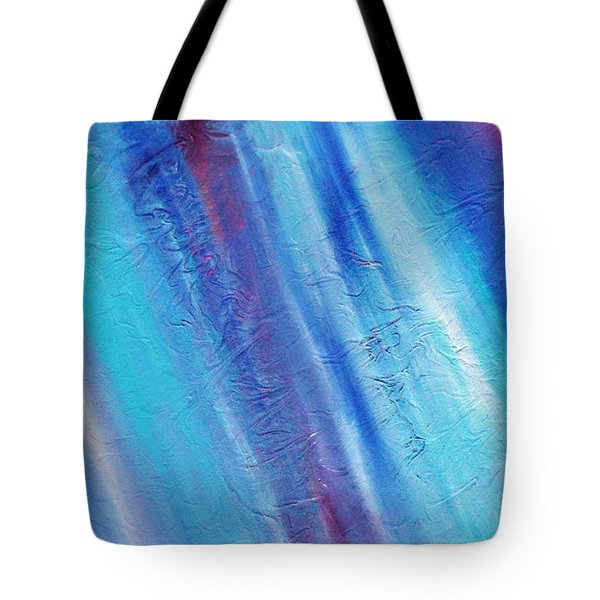 Tote Bag featuring the painting Cy Lantyca 21 by Cyryn Fyrcyd