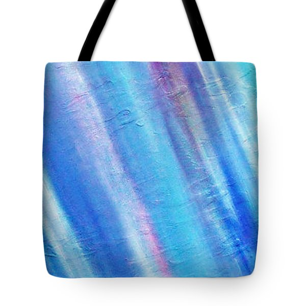Tote Bag featuring the painting Cy Lantyca 22 by Cyryn Fyrcyd