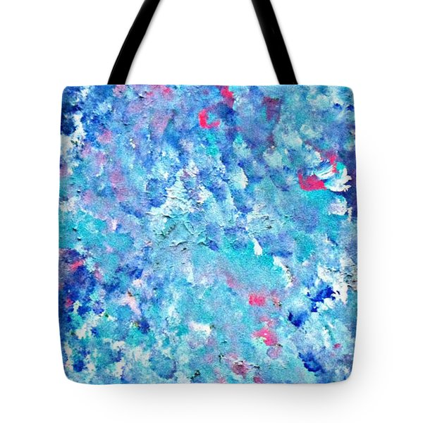 Tote Bag featuring the painting Cy Lantyca 24 by Cyryn Fyrcyd