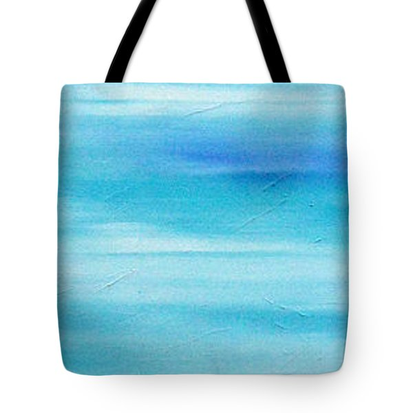 Tote Bag featuring the painting Cy Lantyca 25 by Cyryn Fyrcyd