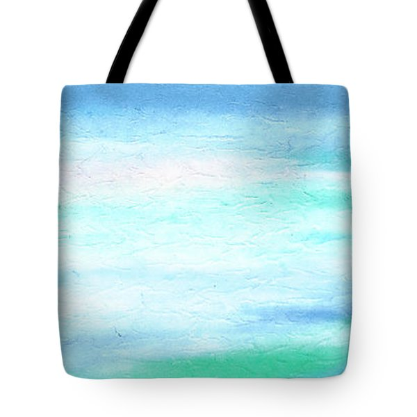 Tote Bag featuring the painting Cy Lantyca 27 by Cyryn Fyrcyd
