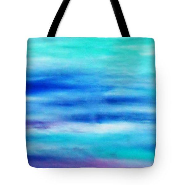 Tote Bag featuring the painting Cy Lantyca 28 by Cyryn Fyrcyd