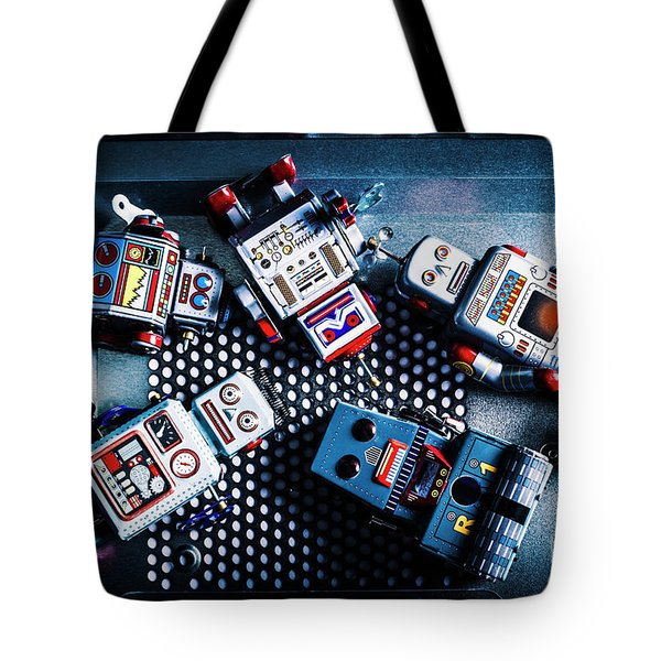 Cyborg Technology Reset Tote Bag