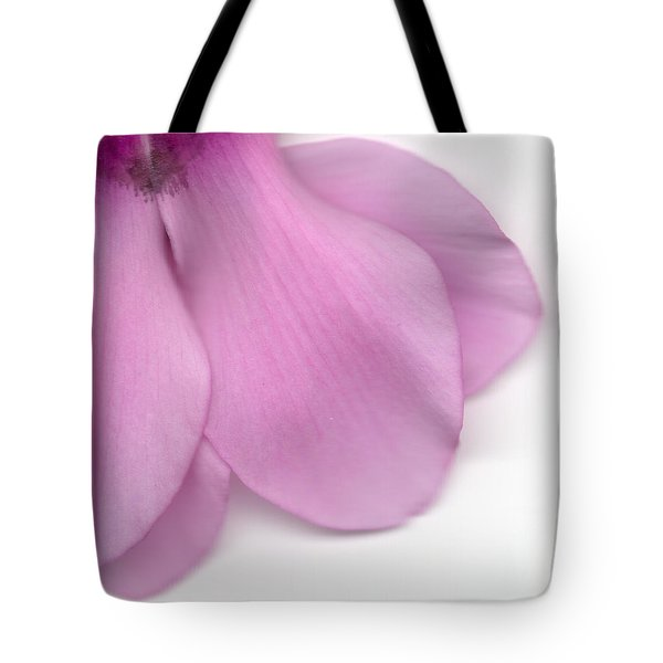 Tote Bag featuring the photograph Cyclamen by Marc Philippe Joly