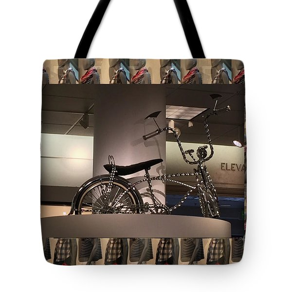 Tote Bag featuring the photograph Cycle Bicycle Race Exercise Posters Pillows Curtains Tote Bags Towels Christmas Holidays Festivals  by Navin Joshi